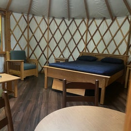 yurts are available also
