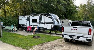 Hamilton County White River Campground