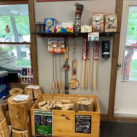 store supplies for outdoor fire