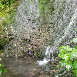 Bat cave waterfall