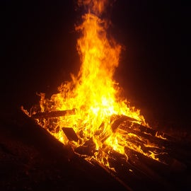 fire site