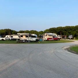 small RV/tent area