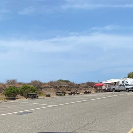 typical camp sites for RVs