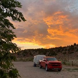 sunset was fabulous
