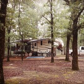 big level campsite