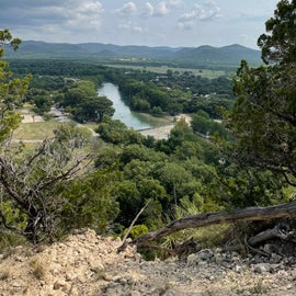 view of the Frio from Old Baldy