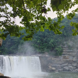 Cumberland Falls at the Visitor Center