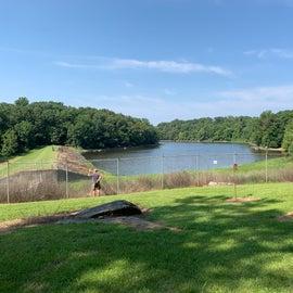 dam at end of lake