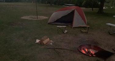 Lake Mitchell Campground