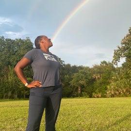 Tasting the rainbow!🤣