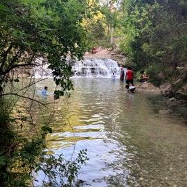 Chalk Ridge Waterfall
