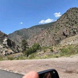 So much mountain after Kansas flatland