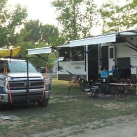 Our campsite 154