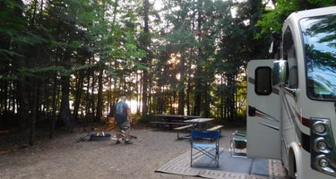 Spectacle Lake Campground