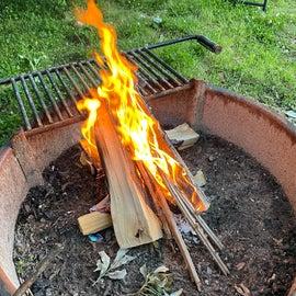 site fire pit