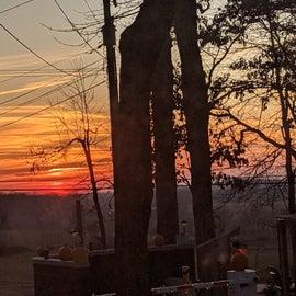 Always has beautiful sunsets!