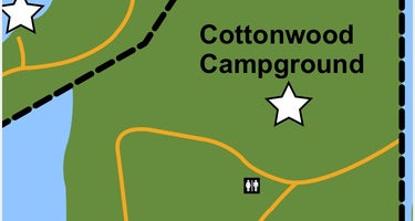 Cottonwood Campground  - Merritt Reservoir