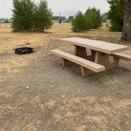 Standard amenities at each site