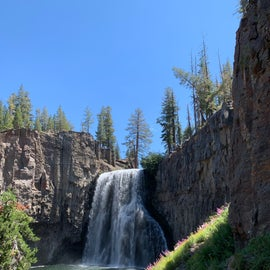 Rainbow Falls - a longer easy hike (about 2.75 miles to the falls)