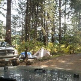 tent camping,  Benewah Campground,  Heyburn SP