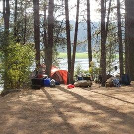 tenting at Benewah