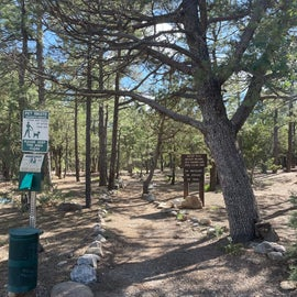 start of nature trail