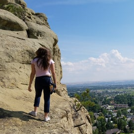 Overlooking Billings from the rims