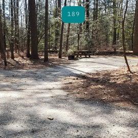 Pocomoke River Shad Landing Sites 190 & 189 shared driveway