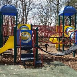 Larger playground area