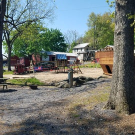 Site #82 near the playground