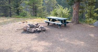 Little Blackfoot River Dispersed Campsite