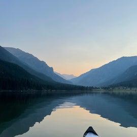 Emerald Lake at Sunset