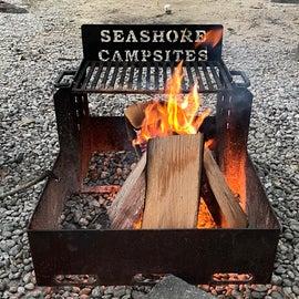 Nice campfire ring.