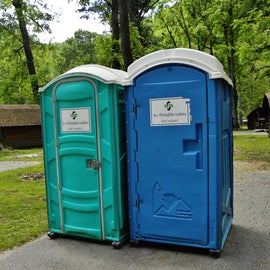 Temporary bathrooms