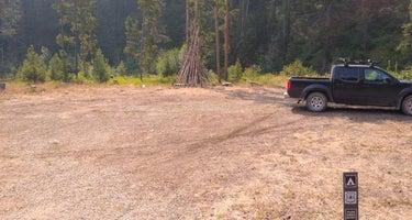 Little Blackfoot River Dispersed Campsite #3