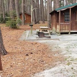 Pocomoke River Milburn Landing Site 31 - cabin
