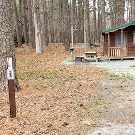 Pocomoke River Milburn Landing Site 32 Cabin