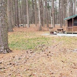Pocomoke River Milburn Landing Site 33 - Cabin
