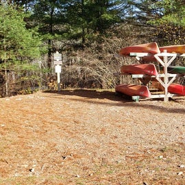 Kayaks and canoes for rent