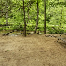 Dirt Tent Site