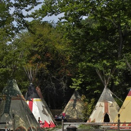 Tipi Village at the Campground