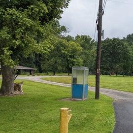 lower camping area near creek