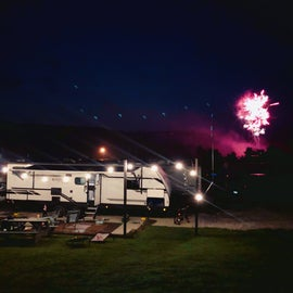 Perfect spot for fireworks and family time!