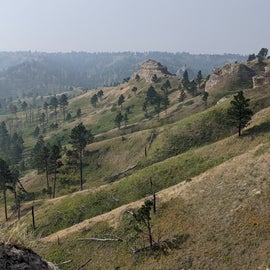 Black Hills Overlook trail