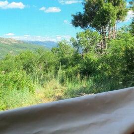 Camper Bed View