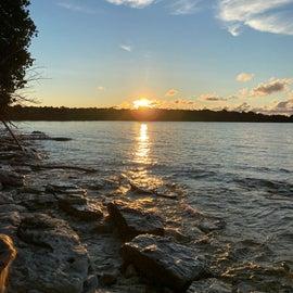 Sunrise at site 7