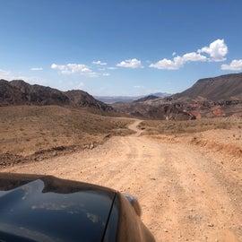 Main dirt road