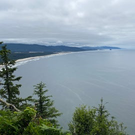view from Cape Lookout hike