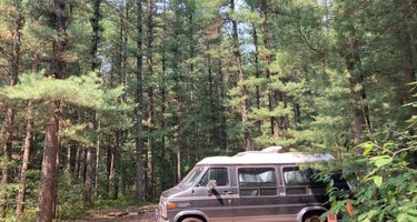 Manistee National Forest Marzinski Horse Trail Campground