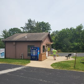 The Front Registration office on the South side of the park.
